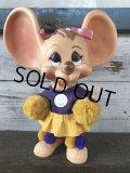 Vintage HURON Mouse Bank Cheerleader (J176)