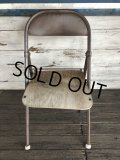 Vintage Metal Folding Chair (J198)
