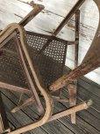 画像10: Vintage Metal Folding Chair Set (J201)