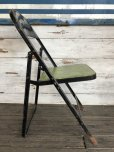 画像2: Vintage Lyon Metal Folding Chair (J200) (2)