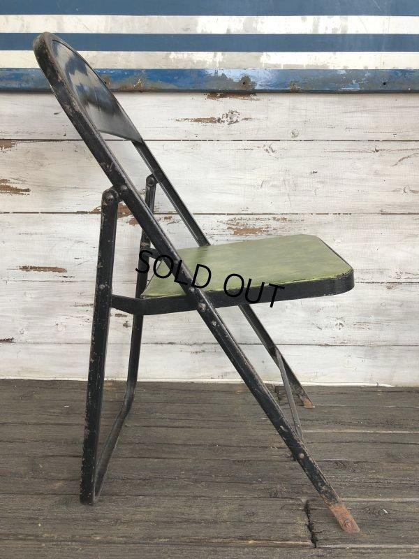画像2: Vintage Lyon Metal Folding Chair (J200)