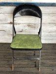画像1: Vintage Lyon Metal Folding Chair (J200) (1)