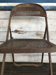 画像9: Vintage Metal Folding Chair Set (J201)