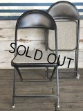 Vintage Metal Folding Chair (J199)