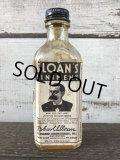 Vintage Sloan's Liniment Glass Bottle (J212)