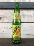 画像2: Vintage Soda Glass Bottle Mello Yello (J243) (2)