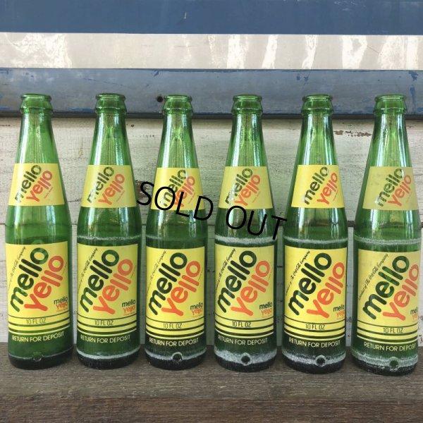 画像1: Vintage Soda Glass Bottle Mello Yello (J243)