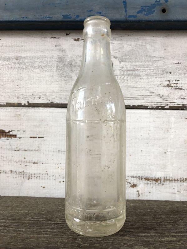 画像2: Vintage Soda Glass Bottle Toluca Ill (J236)