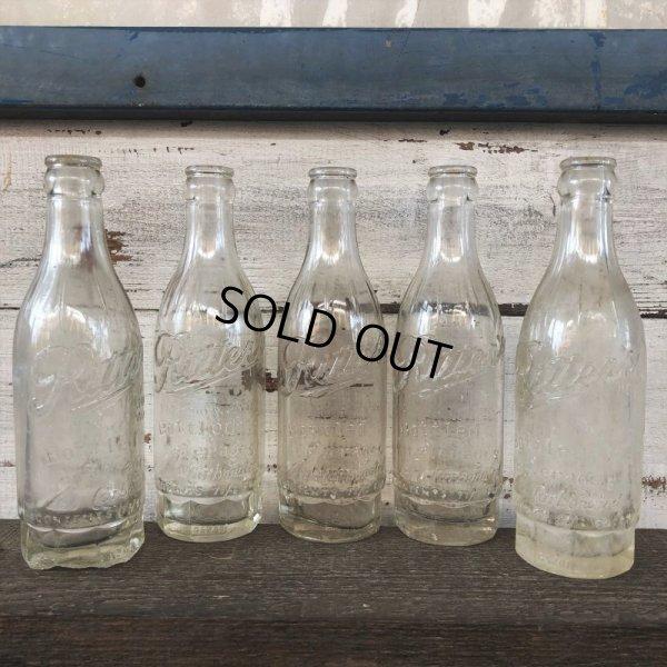 画像1: Vintage Soda Glass Bottle Ritter's (J249)