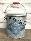 Vintage Sears Fishing Minnow Bucket (J253)