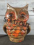 Vintage Ceramic Owl TV Lamp (J256)