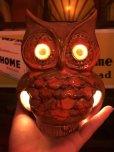 画像8: Vintage Ceramic Owl TV Lamp (J256)
