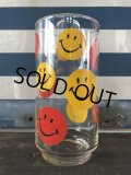 Vintage Glass Smiley Happy Face (J267)