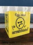 画像5: Vintage Italian Mood Cube Smiley Happy Face (J272)