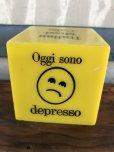 画像4: Vintage Italian Mood Cube Smiley Happy Face (J272)