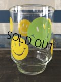 Vintage Glass Smiley Happy Face (J268)