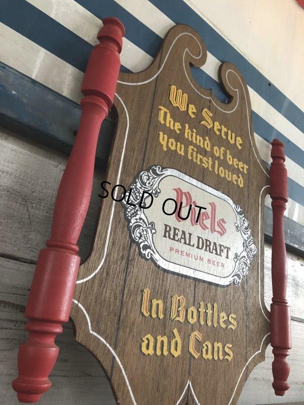 画像2: Vintage Piels Beer Wood Sign (J275)