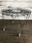 画像3: Vintage Wire Laundry Basket (J285)