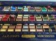画像5: 30s Vintage J&P Coats Spool Cabinet (J284)   (5)