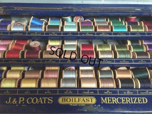 画像5: 30s Vintage J&P Coats Spool Cabinet (J284)