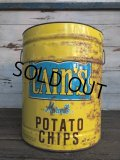 Vintage Cain's Potato Chips Can (J288)