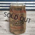 Vintage CV Potato Burlap Bag 50 LBS (J292)