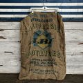 Vintage LBI Potato Burlap Bag 100 LBS (J291)