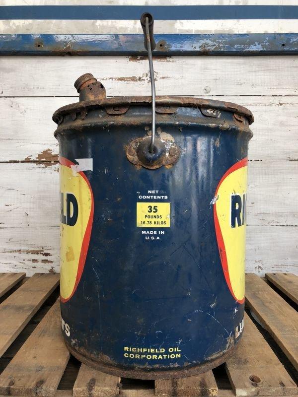 画像2: Vintage Richfield 5 GAL Gas Oil Can (J296)