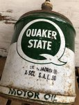 画像7: Vintage Quaker State 5 GAL Gas Oil Can (J299)