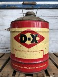 画像3: Vintage DX 5 GAL Gas Oil Can (J297)   (3)