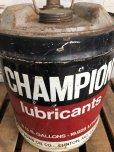 画像9: Vintage Champion 5 GAL Gas Oil Can (J300)