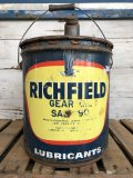 Vintage Richfield 5 GAL Gas Oil Can (J296)