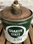 画像6: Vintage Quaker State 5 GAL Gas Oil Can (J299)