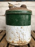 画像2: Vintage Quaker State 5 GAL Gas Oil Can (J299)   (2)
