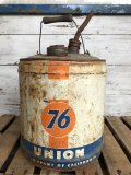 Vintage 76 UNION 5 GAL Gas Oil Can (J298)