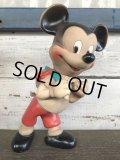 Vintage Mickey Rubber Doll Dell (J302)