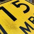 画像6: Vintage Road Sign 15 MPH (J325)