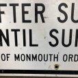 画像4: Vintage Road Sign PARK CLOSED (J332)