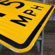 画像3: Vintage Road Sign 15 MPH (J325)