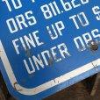 画像4: Vintage Road Sign Handicap Parking (J328)