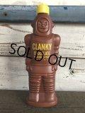 Vintage Clanky Chocolate Syrup bottl (J336)