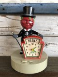 Vintage Heinz Mr Aristocrat Tomato Man Talking Alarm Clock (J335)