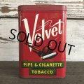 Vintage Velvet Tabacco Pocket Tin Can (J339)