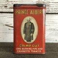 Vintage PRINCE ALBERT Tabacco Pocket Tin Can (J342)