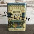 Vintage BOND STREET Tabacco Pocket Tin Can (J343)