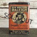 Vintage SIR WALTER RALEIGH Tabacco Pocket Tin Can (J341)
