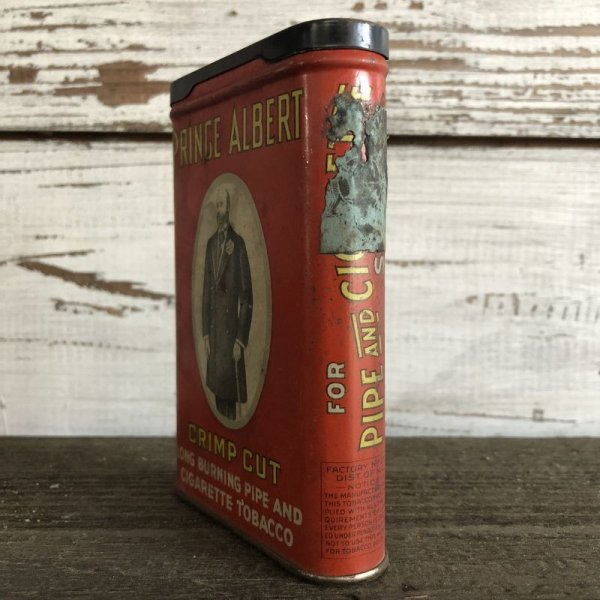 画像2: Vintage PRINCE ALBERT Tabacco Pocket Tin Can (J342)