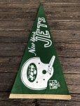 画像6: 60s Vintage NFL Pennant Flag Banners NY JETS (J353)
