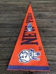 画像7: Vintage MLB Pennant Flag Banners NY METS (J354)