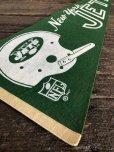 画像2: 60s Vintage NFL Pennant Flag Banners NY JETS (J353) (2)